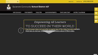 Sycamore Middle School Parent Portal