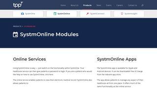 System Online Login Page