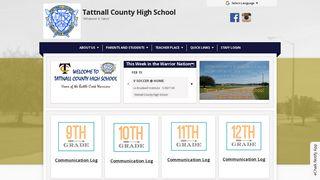 Tattnall County High School Parent Portal