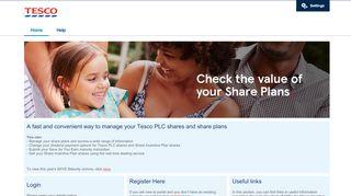 Tesco Shares Login