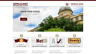 Texas A&m Application Portal