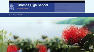 Thames High School Parent Portal