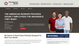 The American Worker Insurance Provider Portal