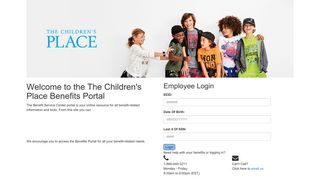 The Children's Place Store Portal Login