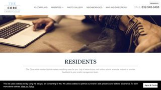 The Core Apartments Resident Portal