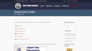 Tome School Parent Portal