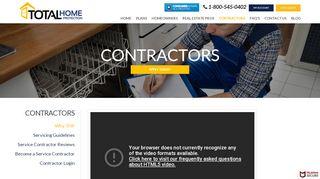 Total Home Protection Vendor Portal