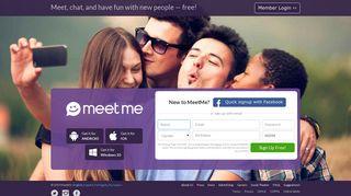 dating sites meetme login