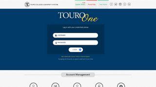 Touroone Student Portal