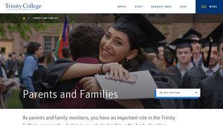 Trinity College Parent Portal