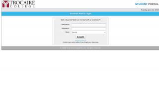 Trocaire Student Portal