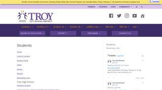 Troy Student Portal