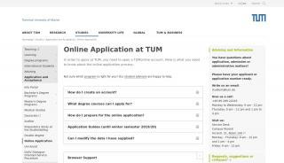 Tum Admission Portal