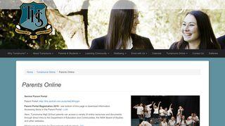 Turramurra High School Parent Portal