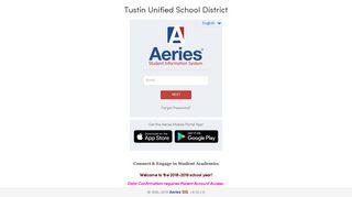 Tustin Unified School District Parent Portal