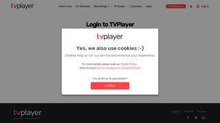 Tvplayer Com Login