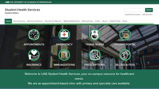 Uab Student Health Patient Portal