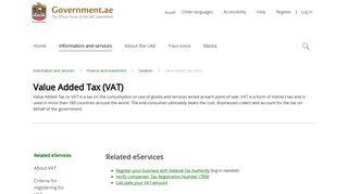 Uae Vat Registration Portal