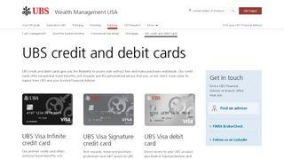 Ubs Visa Card Login