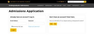 Ucf Admissions Portal