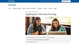 Ucsc Housing Portal