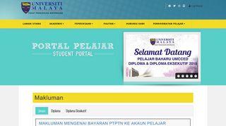 Umcced Student Portal