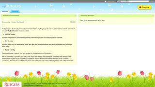 Umdnj Student Portal