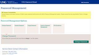 Ung Password Portal