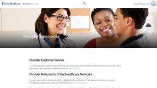 United Healthcare Student Resources Provider Portal