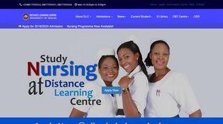 University Of Ibadan Distance Learning Student Portal