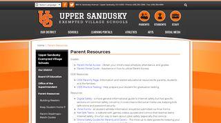 Usevs Parent Portal