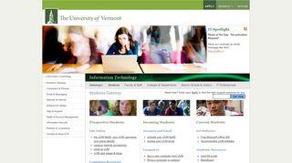 Uvm Student Portal