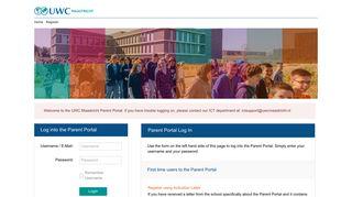 Uwc Maastricht Parent Portal