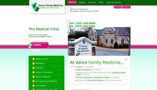 Vance Family Medicine Portal