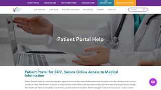 Vanguard Medical Group Portal
