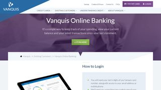 Vanquis Co Uk Login