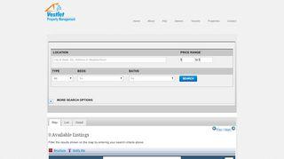 Vestlet Property Management Portal