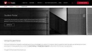 Vettrak Student Portal