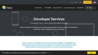 Vidyo Developer Portal