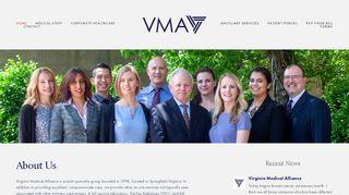 Virginia Medical Alliance Portal