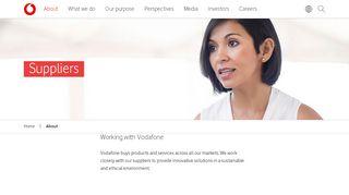 Vodafone Vendor Portal