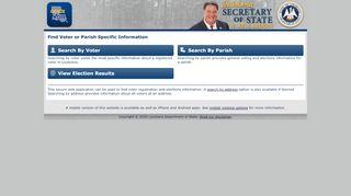 Voter Registration Portal