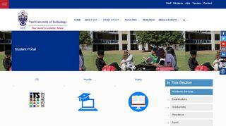 Vut Student Portal