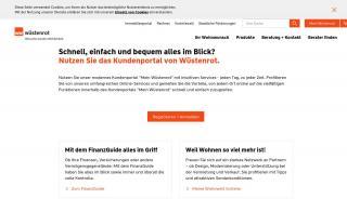 Wüstenrot Online Portal