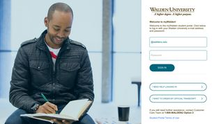 Waldenu Edu Student Portal Login