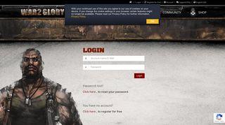 War2glory Login