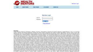 Wealth Mentors Member Login