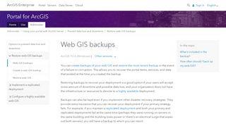 Webgis Portal