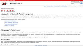 Weblogic Portal Development Tutorial
