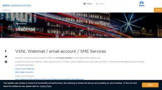 Webmail Login Tata Docomo